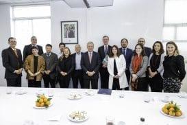 Ministro de Hacienda se reúne con Experto Inglés de Industria Creativa