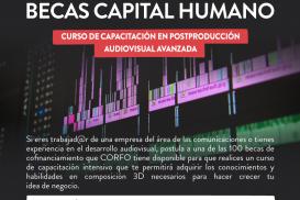 Becas Capital Humano para Economía Creativa