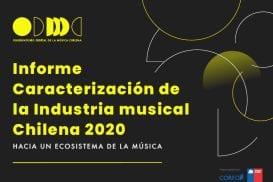 Estudio mapea por primera vez industria de la Música y Espectáculo en Chile
