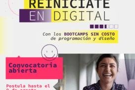 """Abierta Convocatoria Becas """"Reiníciate en Digital"""""""